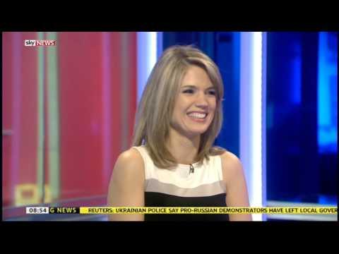 Sky News   Charlotte Hawkins leaves Sky