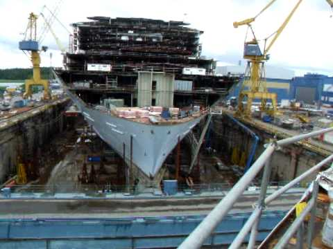Oasis of the Seas under construction - YouTube Oasis Of The Seas Construction