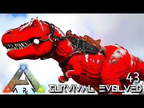 ARK: SURVIVAL EVOLVED: ALPHA TREX & PRIME OTTER TAME E43 !!! ( ARK EXTINCTION CORE MODDED )