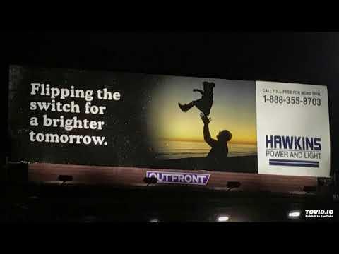 Hawkins Power and Light Telephone Message (Stranger Things - Season 2)