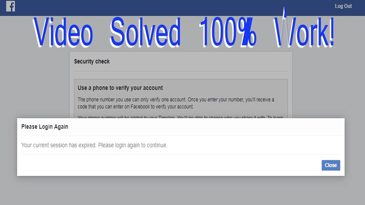 Your Current Session Has Been Expired Please Login Again To Continue Solved  100% Working