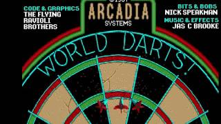 World Darts (Arcadia Systems 1987)  Attract Mode 60fps