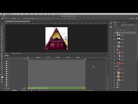 Adobe Photoshop   Adding Audio To A Frame Animation