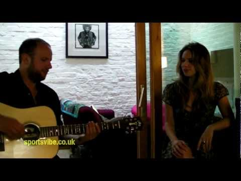 Letters to Ghosts (Live Exclusive) - Lucie Silvas & Jon Green - Sportsvibe TV