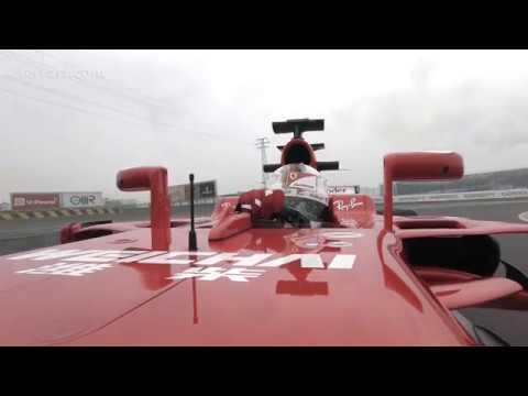 F1 2017 - Ferrari SF70H launch - Sebastian Vettel on track at Fiorano