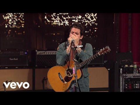 John Mayer - Born and Raised (Live on Letterman)