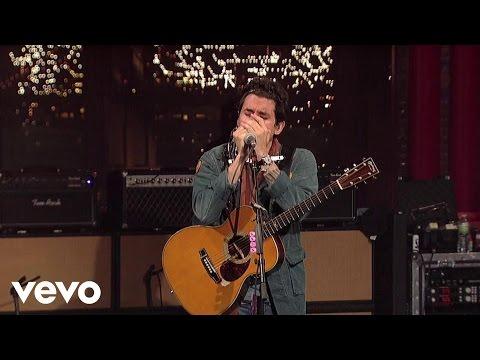 John Mayer - Born and Raised (Live on Letterman)
