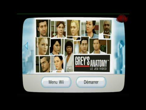Découverte FR Grey's Anatomy, le jeu vidéo WII
