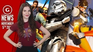 Just Cause 3 900p On Xbox One & Overwatch Coming To Consoles?! - GS Daily News