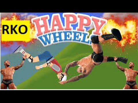 Happy Wheels Rko And Wwe Stunts Montage Youtube