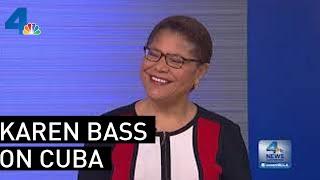 Karen Bass 2016 Interview On Cuba: 'We Should Make Friends With Them' | NBCLA