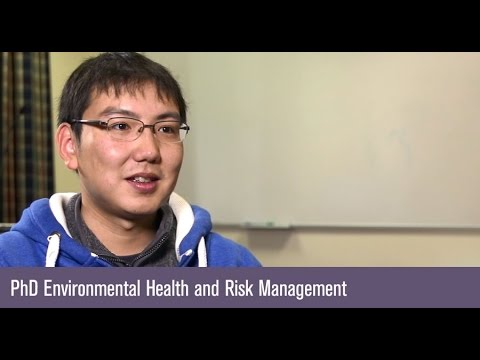 Student perspective: PhD Environmental Health and Risk Management
