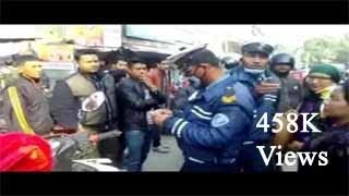 police traffic fight with public  || police VS public