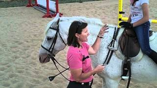 Riding Without Stirrups or How to Cross your Irons!