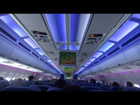 *Flight Report* A310-300 Air Transat  Montreal - Basel  *Full Flight*