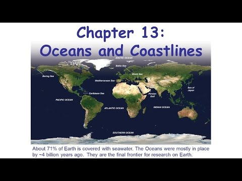 GSC1143 Week06 Lecture Ch13 Oceans Coastlines