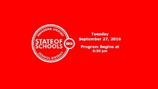 PUSD State of Schools