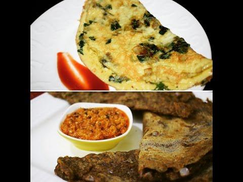 Two Healthy Breakfast Recipes. **Whole food** & **Diabetic Friendly**