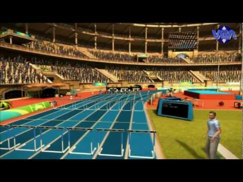 VGA Summer Challenge Athletics Tournament Gameplay Ps3 Xbox 360 Pc 2011 HD