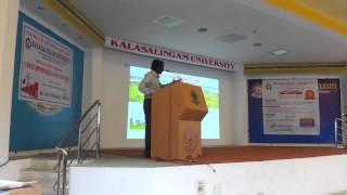 prof.vijayan kanagaraj about acturial science at  kalasalingam university-3