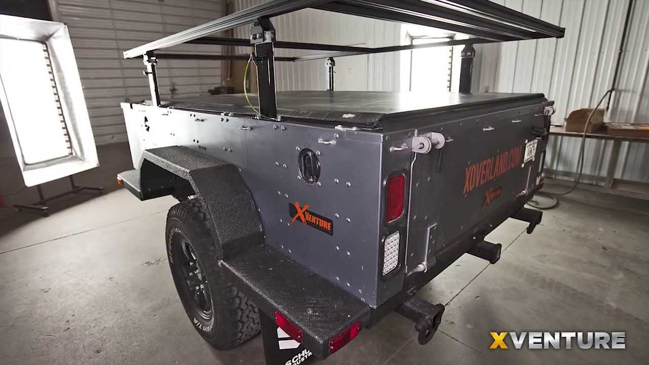 XVENTURE Off Road Camping And Utility Trailer