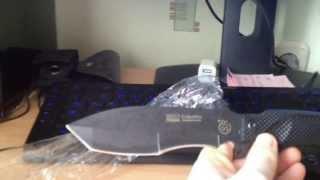 Unboxing и первое впечатление от ножа Columbia SRC