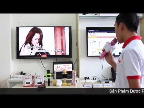 [Hieuhien vn] Micro TUXUN Q7, MICGEEK Q9, MIKARA S9 Pro  Hát Karaoke Trên Android TV Box