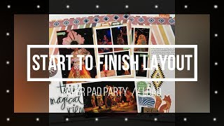 Paper Pad Party // Start to Finish (#113)