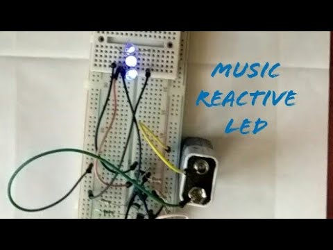 How to Make Music Reactive led strip - Myhiton