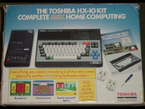 Lets look at - Toshiba HX-10 64k MSX home computer kit