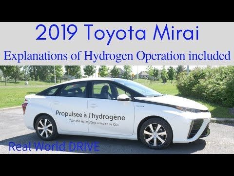2019 Toyota Mirai Review | Explanation of Hydrogen Fuel Cell vs Battery Only