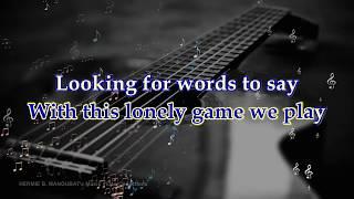"""this masquerade"" sung by george benson, karaoke (minus one)with lyrics.....sing along and enjoy! hermie b. mangubat"