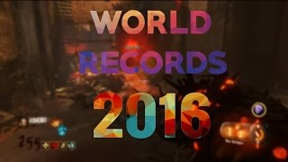 TOP 5 WORLD RECORDS de 2016-Call Of Duty Zombies