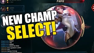 THE NEW CHAMPION SELECT THO!
