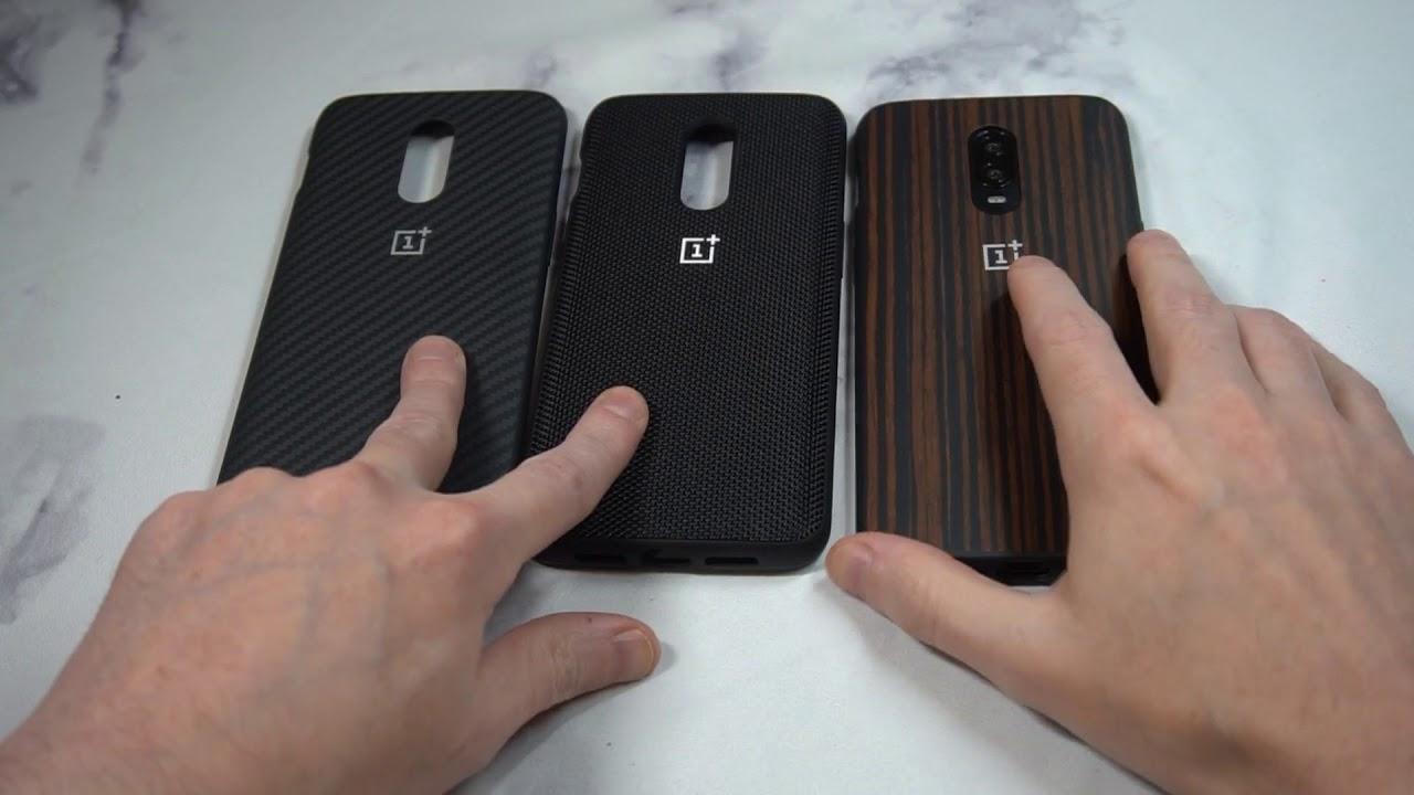 7226a47dbab Official OnePlus 6T Bumper Case Comparison (All 3 Bumper Cases ...