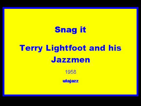 Terry Lightfoot JM 1958 Snag it