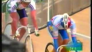 Video 1996 Atlanta Olympic Games Track Cycling Sprint Gary Neiwand v Frederic Magne64 download MP3, 3GP, MP4, WEBM, AVI, FLV Agustus 2018