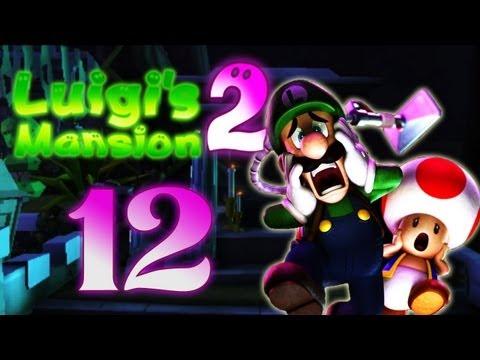 Let's Play Luigis Mansion 2 Part 12: Das Mausoleum und der Friedhof