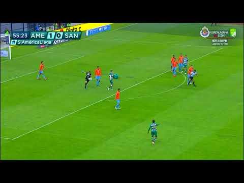 Resumen   América 1 - 0 Santos Laguna   Liga MX - Clausura 2019  - Jornada 16