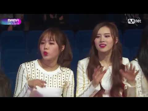 MAMA 2017 JAPANCELEBRITIES REACTION TO AKB48 CHUNG, TWICE, BOA, FROMIS, SEVEN
