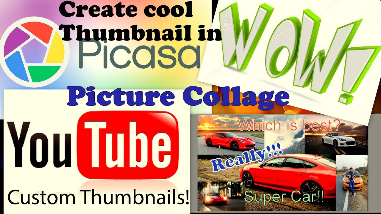 Learn how to create picture college in picasa 3 ( hindi) youtube.