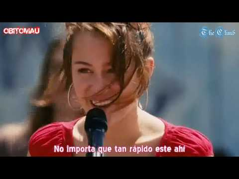 Miley Cyrus - The Climb en Español [HD] Videos De Viajes