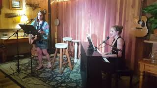 Meant To Be by Bebe Rexha & Georgia Florida Line (LIVE) - Cover by Mona Villamayor & Kendra Dantes