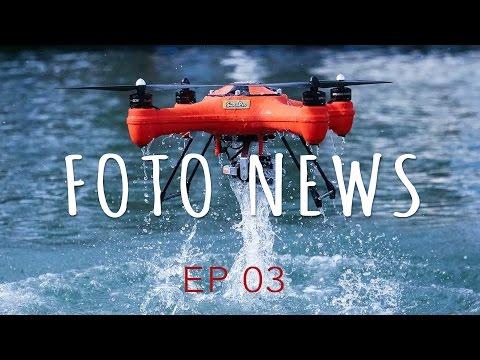 Drone a prova d'água, Canon Update, Minecraft - Foto News EP03