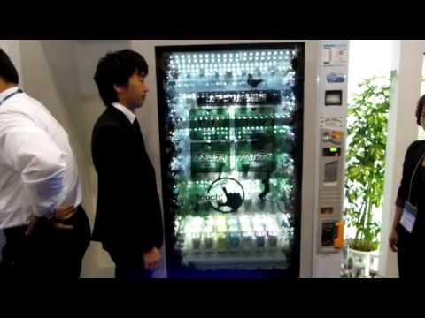 Будущий автомат по продаже продуктов (world First Display)