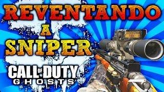 ¡¡ Dando Caña Con El Sniper (USR) !! - CoD Ghosts