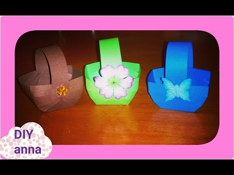 cute paper bags ideas DIY paper craft decorations tutorial / URADI SAM