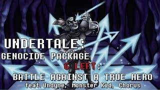 Undertale Genocide Package - Battle Against a True Hero