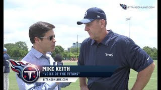 Titans Minicamp Preview: 1-on-1 with Mike Mularkey