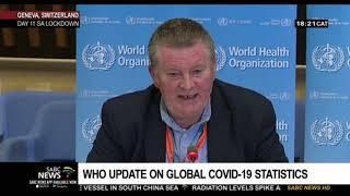 World Health Organisation gives latest update on Coronavirus